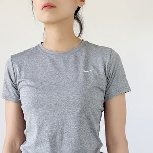 NIKE lightweight FIT DRY atop